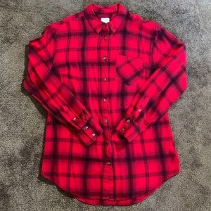 a new day Tops - Women's plaid button up